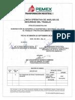PTRI-GTO-DSSSTPA-0101 GUIA TECNICA OPERATIVA DE ANALISIS DE SEGURIDAD EN EL TRABAJO