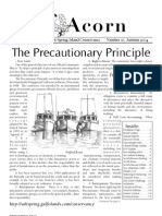Autumn 2004  Acorn Newsletter - Salt Spring Island Conservancy
