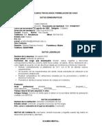 FORMULACION DE CASO UNIMINUTO