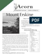 Spring 2005  Acorn Newsletter - Salt Spring Island Conservancy