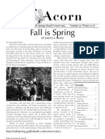 Winter 2006  Acorn Newsletter - Salt Spring Island Conservancy