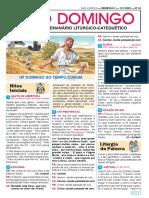 folheto O DOMINGO DIA 12-07-20
