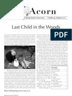 Summer 2007  Acorn Newsletter - Salt Spring Island Conservancy
