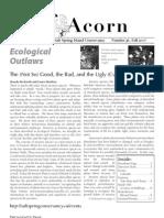 Fall 2007  Acorn Newsletter - Salt Spring Island Conservancy