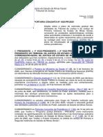 Portaria_Conjunta_da_Presidencia_1025_2020 tjmg