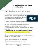 AULA 3 - Os 4 Pilares de um Canal Milionário (1)