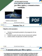 Comunicación por fibra óptica y satelital. Presentación UISRAEL 2020