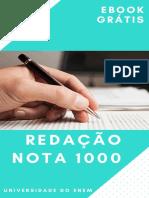 Ebook - Redação nota 1000