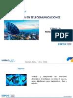 Redes XDSL, HFC, PON