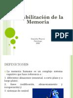 Rehabilitación Memoria 2020