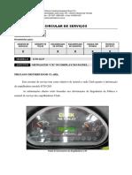 Circular de Serviços - 004-16 Mensagem CK no display do painel