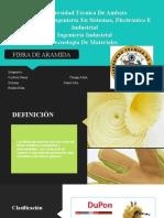 FIBRA DE ARAMIDA