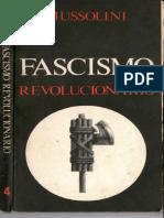 Fascismo Revolucionario Por Federico Rivanera Carles