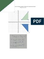 Ejemplo de transformacion lineal