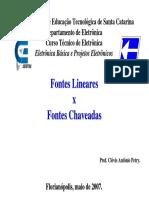 Fonte Linear e Chaveada
