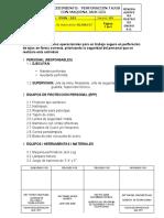 015. PROCEDIMIENTO PERFORACION TAJOS CON MAQUINA JACK LEG...docx
