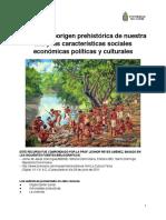 Sociedad aborigen prehistórica de nuestra isla y las características sociales económicas políticas y culturales .pdf