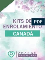 KITS DE INSCRIPCIÓN CANADÁ