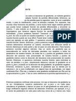 DESCENSO DE GRADIENTE
