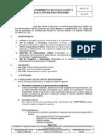 LM-P-02 Procedimiento de evaluación y selección de proveedores AMERICA VERSION 00.doc