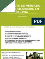 Proyecto de mercado de hidrocarburo en Bolivia