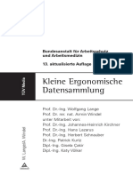 Kleine Ergonomische Datensammlung
