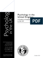 Careers as Psychologist in UK