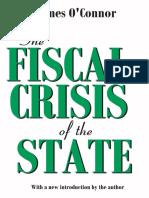 O'Connor, James. La Crisis fiscal del Estado. Ediciones Península. 1994. Introducción.