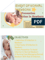 PREVENTION OF INFECTION IN NEWBORN - MADAM DYG
