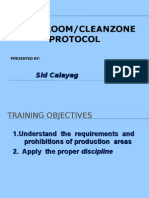 Basic Cleanroom Protocol
