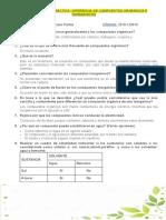 CUESTIONARIO.DIFERENCIA DE COMPUESTOS ORGÁNICOS E INORGÁNICOS (1)