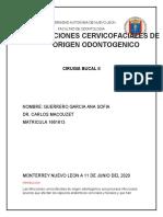 INFECCIONES CERVICOFACIALES DE ORIGEN ODONTOGENICO