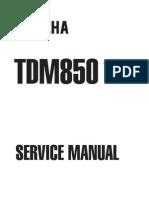 Yamaha TDM850 96 Service Manual ENG