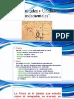 Magnitudes y Unidades fundamentales