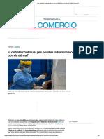 ¿Es posible la transmisión de covid-19 por vía aérea_ _ El Comercio.pdf