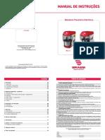 Batedeira Planetária Eletrônica 5 Litros BPEL-05 – Braesi manual