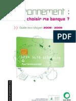 comment choisir ma banque ? guide éco-citoyen !