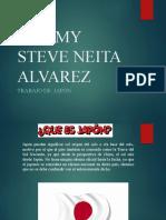 JEREMY STEVE NEITA ALVAREZ.pptx JAPON