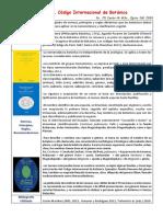 Unidad 1. Código Internacional Botánica