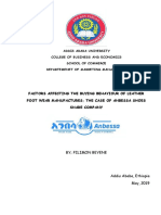 FACTORS AFFECTING THE BUYING BEHAVIOUR OF LEATHER FOOT WEAR MANUFACTURES; THE CASE OF ANBESSA SHOES SHARE COMPANY.pdf