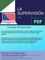 LA SUPERVISIÓN