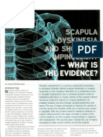 Scapula Dyskinesia