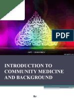 1 intro to COMMUNITY MEDICINE