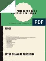 Cara pembuatan bab I proposal penelitian.pptx