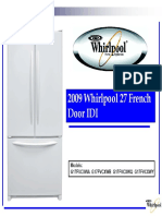 Whirlpool French door-Espanol