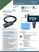 100 Series Submersible Level Sensor