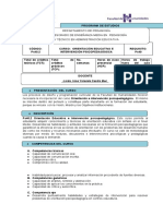 Ps40.2 Orientación educativa e intervención psicopedagógica