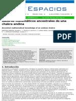 Saberes Matematicos Andinas Agricultura Chacra
