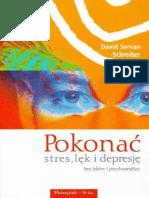 Pokonac stres, lek i depresje b - Servan-Schreiber Dawid