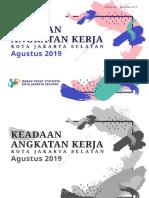 Keadaan Angkatan Kerja Kota Jakarta Selatan Agustus 2019.pdf
